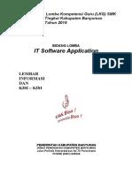 Materi LKG IT Software Application