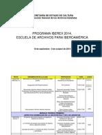 Programa IBEREX 2014