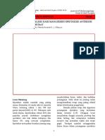Jurnal THT Indonesia (Epistaksis Anterior) 2016