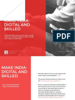 Make India- Digital and Skilled