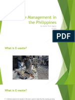 E-Waste Management in the Philippines