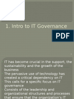 9482 ITG 01 IntroTo ITGovernance