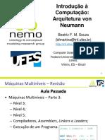 Arquitetura Von Neumann Parte 1