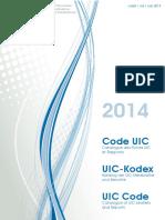 Catalogue UIC