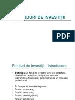 Fonduri Investitii Curs