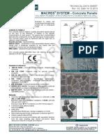 TDS-HU-Muszaki Adatlap MacRes System Concrete Panels ENG Rev03 Dec2013 (1)