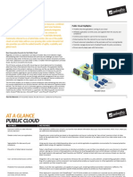 At a Glance Public Cloud