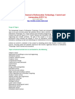 The International Journal of Information Technology, Control and Automation (IJITCA)