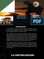Historia Del Centralismo