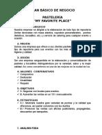 Plan de Negocio de Gestión del Proceso Adminitrativo