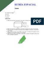 Ejercicios Areas y Volumenes de Cuerpos Geometricos
