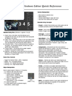 Unity3d Editor Quick Reference