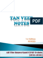 Tanveer Notes Revised 1st ED (Uploaded by Hanan)