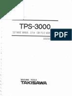 Manual Takisawa Tps 3000