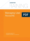 14. Local System Administration Managing User Accounts