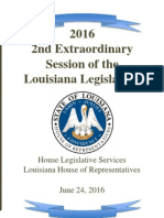 2016 Louisiana 2nd Special Session Wrap Up