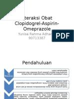 Interaksi Clopidogrel Aspirin Omeprazole