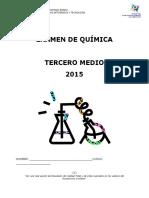 Examen 2015 III Medio