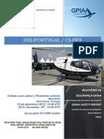 Power Line Colision- Eurocopter EC120B Colibri