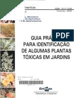 Guia Pratico Para Identificacao Plantas Toxicas Jardins