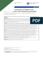 biomecanica in spondilita anchilozanta