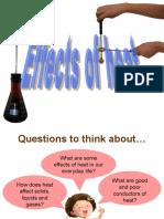 Energy C3-Effects of Heat