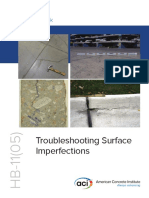 ACI - Troubleshooting Surface Imperfections