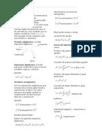 Algebra Regla d Exponente y Operciones Alebraicas