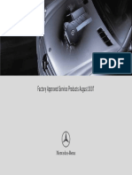 2005 c230 Factory Approved Service Pamphlet