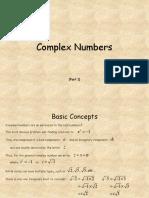 Complex Number Pt1