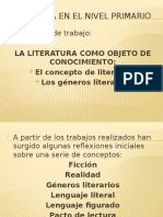 Literatura en El Nivel Primario Primer Eje 1 (1)