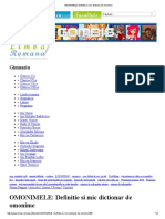 OMONIMELE_ Definitie si mic dictionar de omonime.pdf