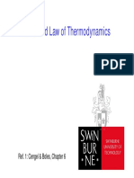 The Second Law of Thermo