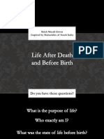 Life After Death Life Before Birth