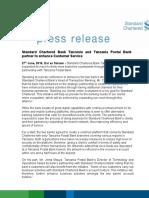 Press Release - SCB - TPB Partnership