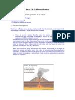 Geología. Volcanes