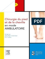 Chirurgie Du Pied Et de La Cheville en Mode Ambulatoire