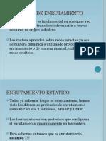 Enrutamiento Estatico CCT REDES