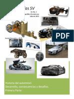 Revista Digital FundaReD. Ed. NO. 2. Historia  del Automóvil