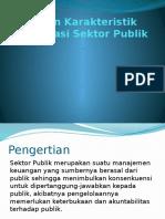 Sifat Dan Karakteristik Organisasi Sektor Publik