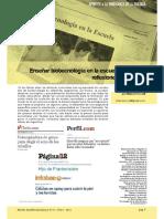 Didáctica de La Biotecnologia