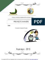 155484008 Ejemplo de Un Proyecto Minero