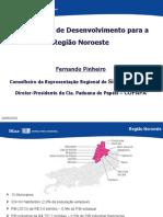 Firjan - Alernativas de Desenvolvimento para a Região Noroeste