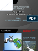 PANELES SEDIMENTADORES LAMINARES