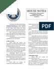 2016 House Notes Regular Session Week 2