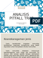Aanalisiss Pit Fall Trap Lengkap