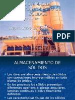 SISTEMAS DE ALMACENAMIENTO DE SÓLIDOS