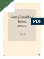 Control e inventivos de la gestión empresarial (I)
