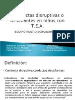 Conductas Disruptivas o Desafiantes en Niños Con T 2