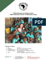 Forever Kids Kenya - Volunteering Program_2016_ENG